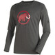 Mammut Logo Longsleeve Shirt Men grey